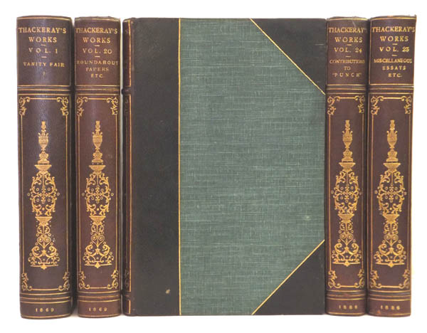 The Works of W. Thackeray. Including: Vanity Fair, Pendennis, Barry Lyndon, etc. William Makepeace THACKERAY.