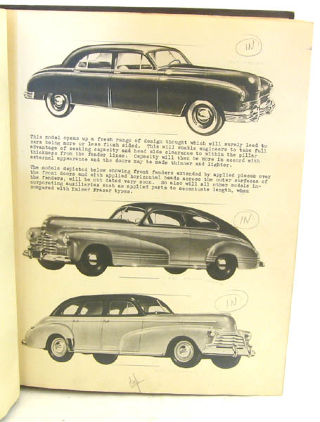Reports on Visits to American Automobile Body Plants during the Period of 16th April - 17th May 1946. R. ROBERTSON.