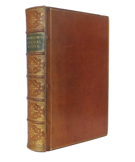 """Longfellow's Poetical Works. New Edition Containing """"Michael Angelo"""" Henry Wadsworth LONGFELLOW."""