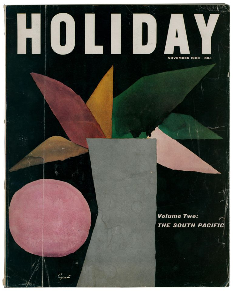 'The Perplexing Date Line' contained within 'Holiday' magazine. Vol 28, No.5, November 1960. Ian Lancaster FLEMING.