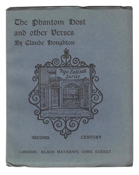 The Phantom Host, and Other Verses. Claude HOUGHTON.
