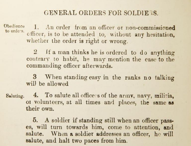 Extracts from Regimental Orders, for the Use of the First Battalion Grenadier Guards. ANONYMOUS.