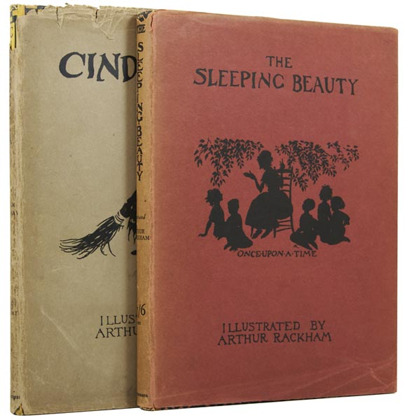 Cinderella. Together with The Sleeping Beauty. Illustrated by Arthur Rackham. C. S. EVANS, Charles Seddon, Arthur RACKHAM.
