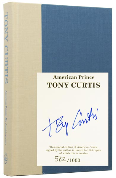 American Prince: My Autobiography. Tony CURTIS.