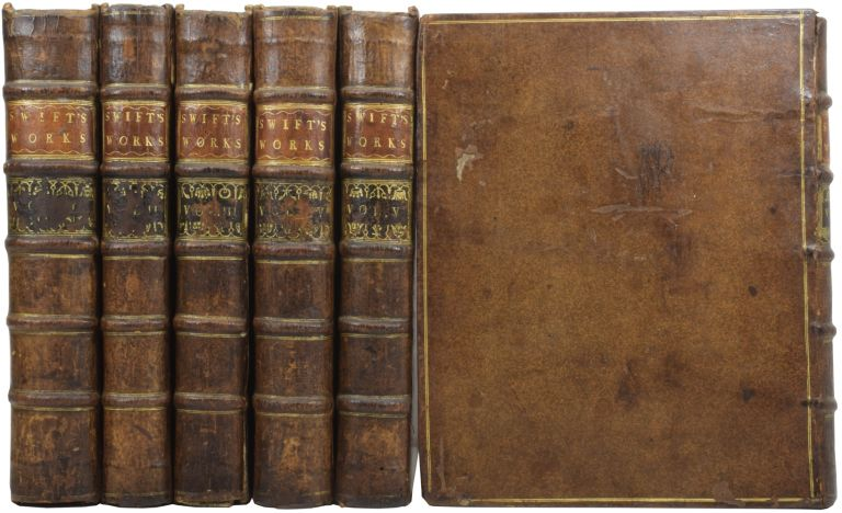 The Works of Jonathan Swift, D.D., Dean of St Patrick's, Dublin, accurately revised in Six Volumes, Adorned with Copper-Plates; with Some Account of the Author's Life, and Notes Historical and Explanatory, by John Hawkesworth. Jonathan SWIFT, Dean, John HAWKESWORTH.