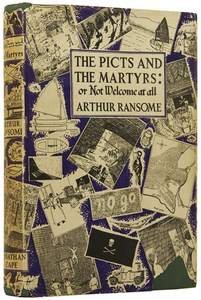 The Picts and the Martyrs: or, Not Welcome at all. Arthur RANSOME.