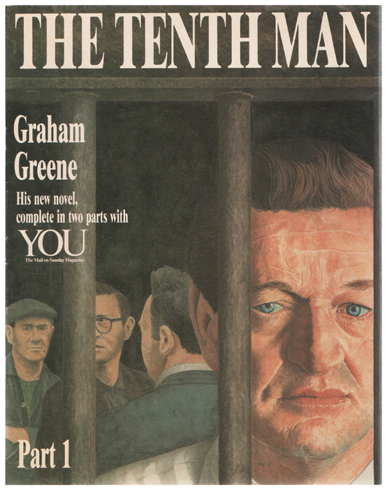 The Tenth Man. Contained within a supplement to 'You' (The Mail on Sunday magazine). Graham GREENE.