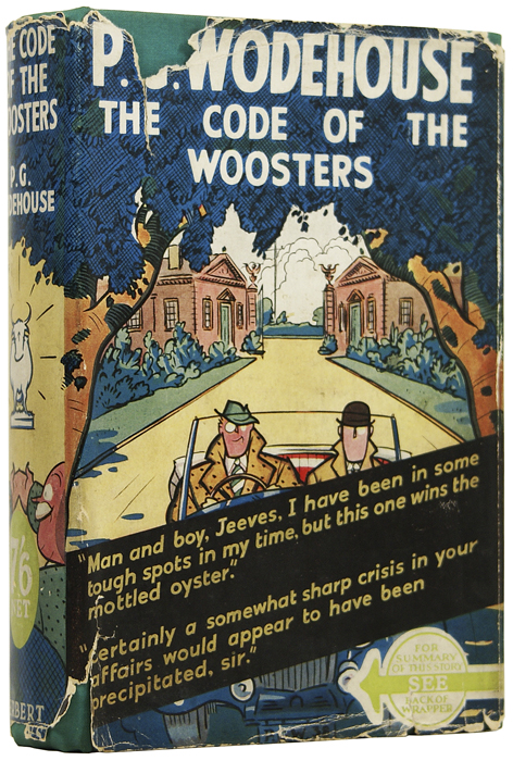 The Code of the Woosters. P. G. WODEHOUSE, Pelham Grenville.