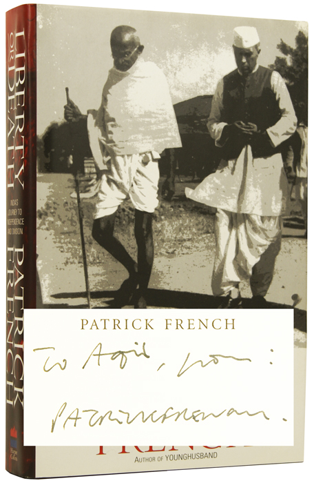 Liberty or Death. India's Journey to Independence and Division. Patrick FRENCH, born 1966.