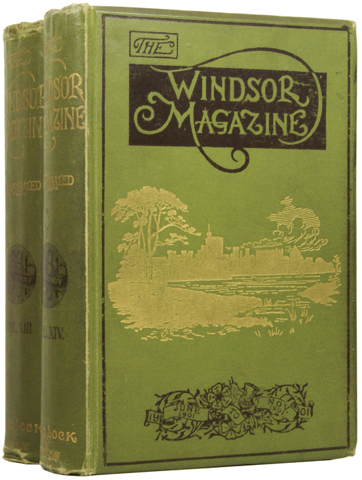 An Incident of African History [and] M.I. [in] The Windsor Magazine. Volumes XIII and XIV. Sir H. Rider HAGGARD, Rudyard KIPLING, Sir Winston S. CHURCHILL, Guy BOOTHBY, Anthony HOPE, E. Phillips OPPENHEIM, Richard MARSH, Sir Henry M. STANLEY.