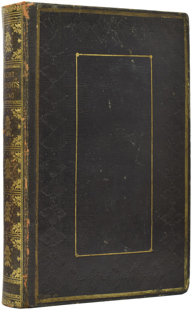 Night Thoughts on Life, Death and Immortality. With Notes Critical and Illustrative, by the Rev. C. E. De Coetlogon, A. M., To which is Prefixed The Life of the Author. Embellished with Fifteen Elegant Engravings, Dedicated to the Marchioness of Salisbury. Edward YOUNG.