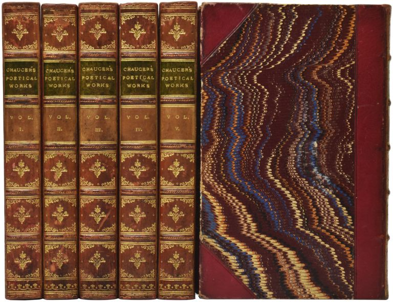 The Poetical Works of Geoffrey Chaucer. Geoffrey CHAUCER, Richard MORRIS.