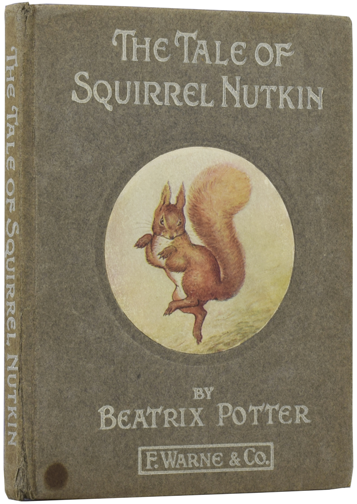 The Tale of Squirrel Nutkin. Beatrix POTTER.