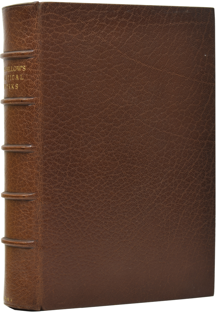 The Poetical Works. Complete Copyright Edition. Henry Wadsworth LONGFELLOW.