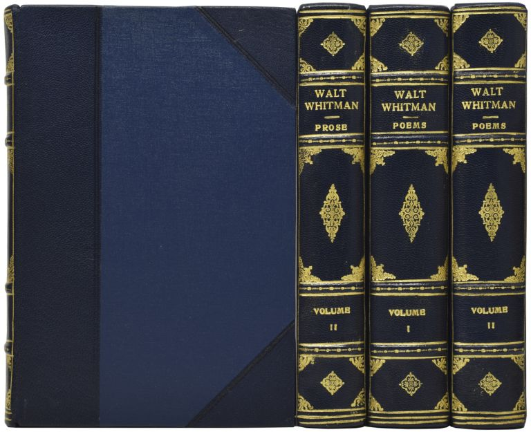 The Complete Works of Walt Whitman. The Collector's Camden Edition. Walt WHITMAN.