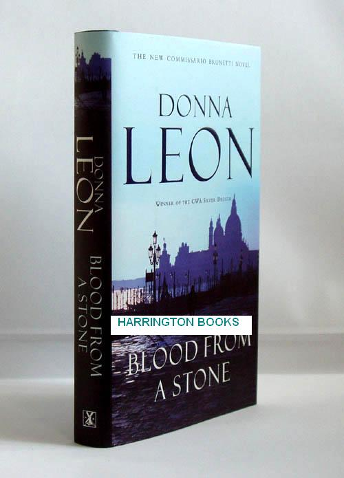 Blood from a Stone. Donna LEON, born 1942.