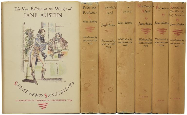 The Vox Edition of the Works of Jane Austen. Jane AUSTEN, Emile LEGOUIS, introduction, Maximilien VOX.