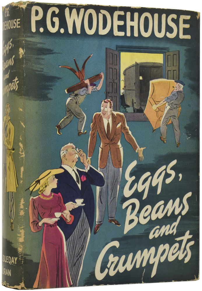 Eggs, Beans and Crumpets. P. G. WODEHOUSE, Pelham Grenville.