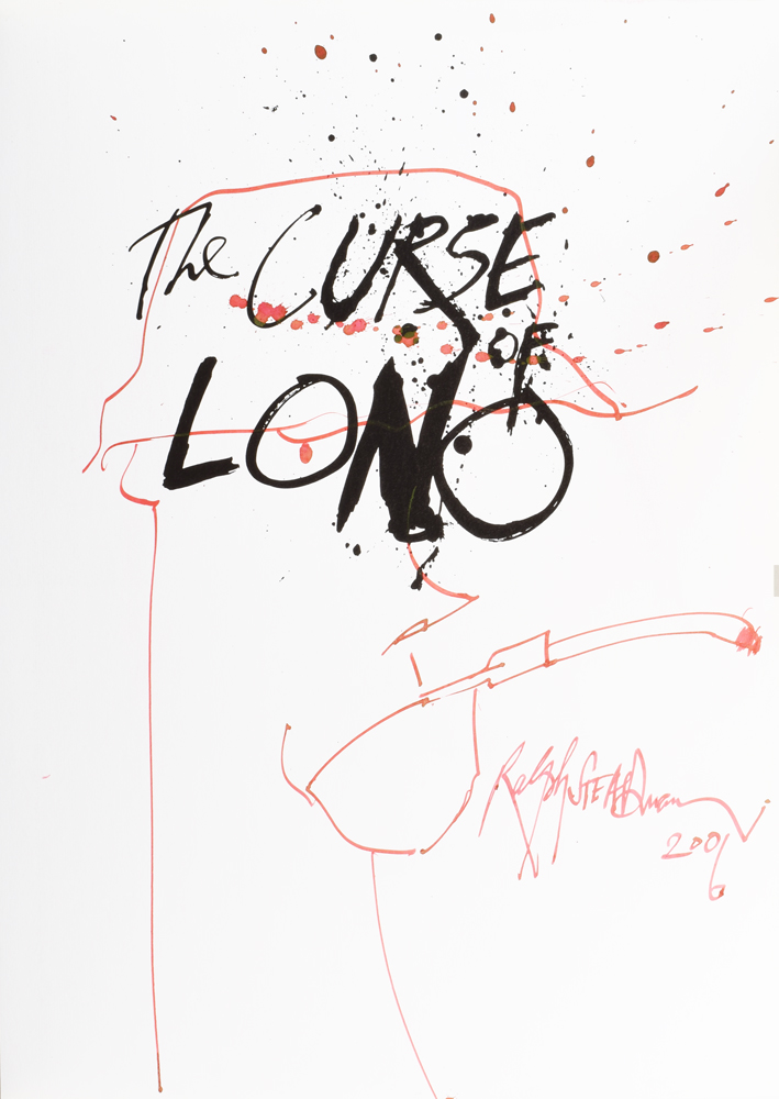 The Curse of Lono (with fine painting of Thompson). Hunter S. THOMPSON, Ralph STEADMAN.