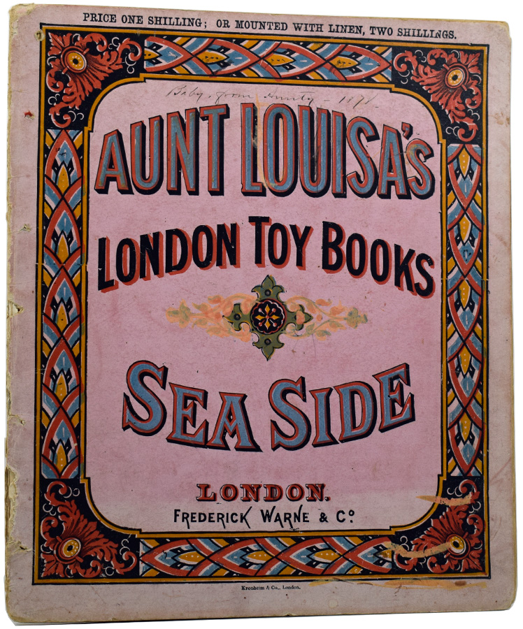 London Toy Books: Aunt Louisa's Sea Side. Laura VALENTINE.