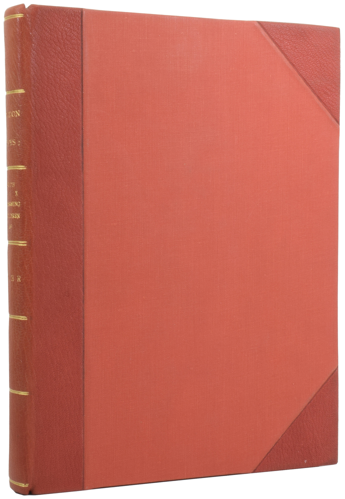 London Cries: with Six Charming Children, printed direct from stippled plates in the Bartolozzi style, and duplicated in red and brown, and about forty other illustrations, including ten of Rowlandson's humorous subjects in facsimile, and tinted; examples by George Cruikshank, Joseph Crawhill, etc., etc. Andrew W. TUER.