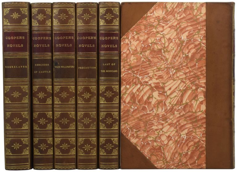 The Works of James Fenimore Cooper. [Including 'The Last of the Mohicans'; 'The Pathfinder'; 'The Deerslayer' etc.] The Mohawk Edition. James Fenimore COOPER, F. T. RICHARDS.