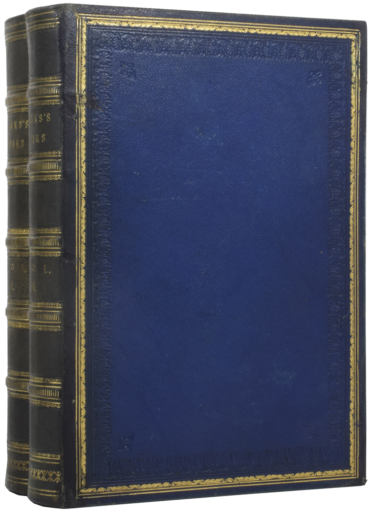 The works of robert burns. Illustrated by an Extensive Series of Portraits and Authentic Views. With a Complete Life of the Poet: An Essay on his Genius and Character, by Professor Wilson. Numerous Notes, Annotations, and Appendices. Robert BURNS, James CURRIE, biographer, Professor WILSON, introduction.