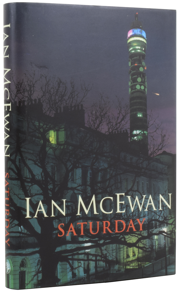Saturday. Ian McEWAN, born 1948.