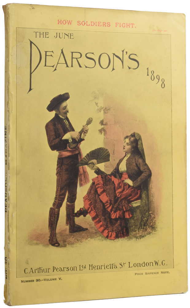 The Red Carnation [in] Pearson's Magazine. Number 30 volume 5. BARONESS ORCZY.