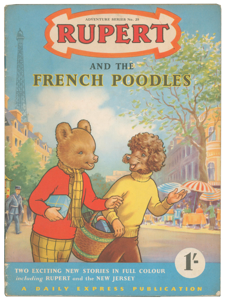 Rupert and the French Poodles [and Rupert and the New Jersey]. Adventure Series No. 25. Enid ASH.