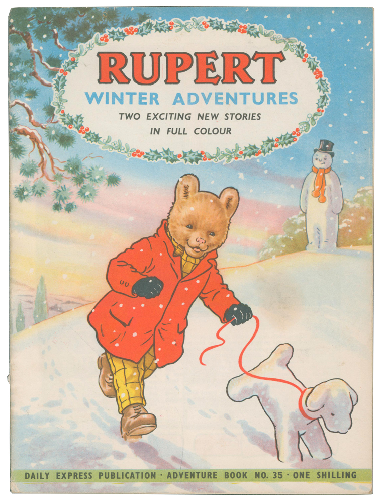 Rupert Winter Adventures [Rupert and the Angry Dolls, and Rupert and Will o' the Wisp]. Adventure Series No. 35. Enid ASH.