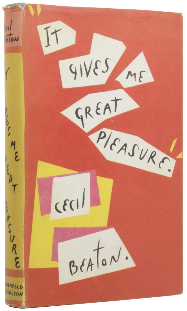 It Gives Me Great Pleasure. Cecil BEATON.