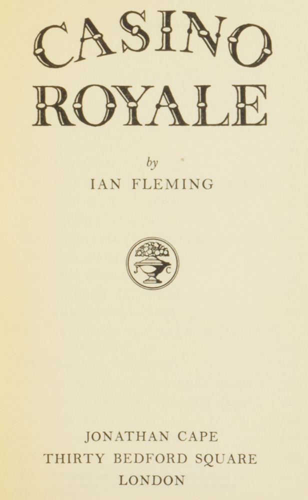 Casino Royale. Ian Lancaster FLEMING.