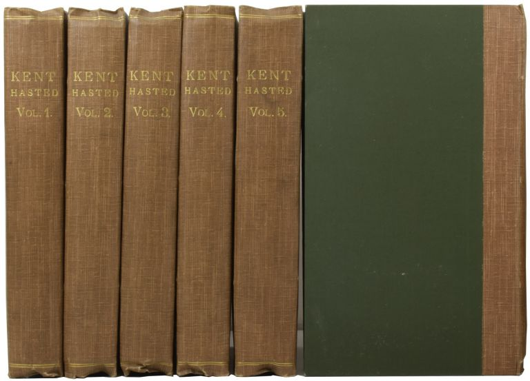 The History and Topographical Survey of the County of Kent. Edward HASTED.