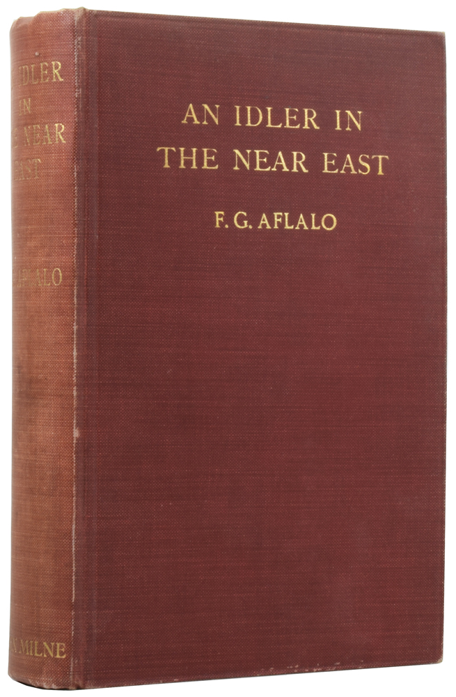 An Idler in the Near East. F. G. AFLALO.