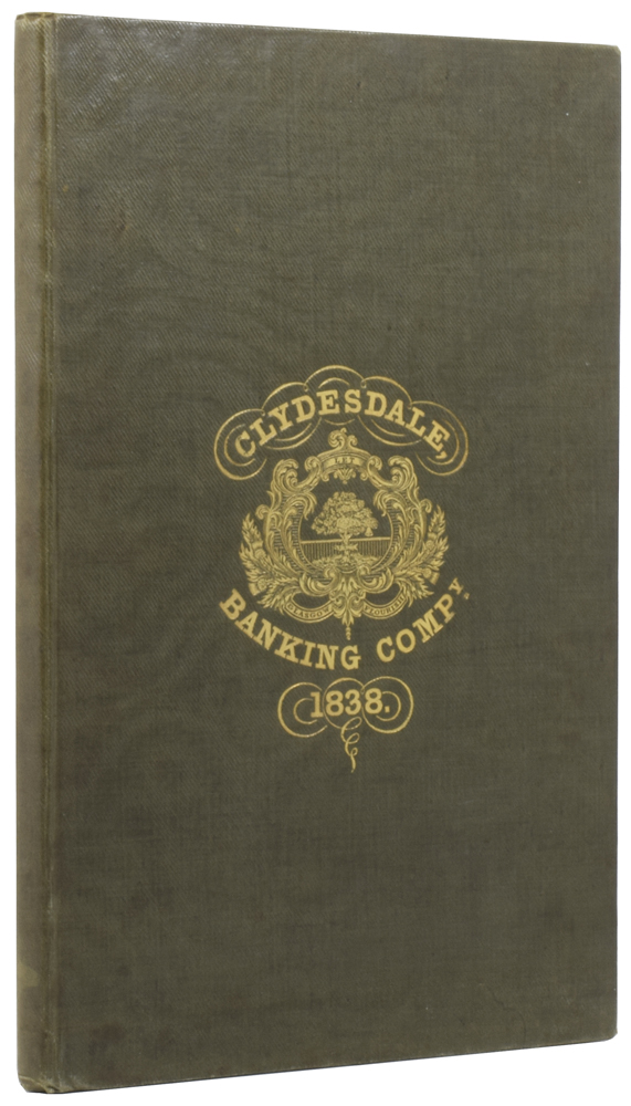 Contract of Copartnery of the Clydesdale Banking Company. James LUMSDEN.