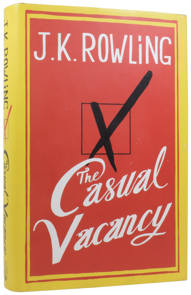 The Casual Vacancy. J. K. ROWLING, born 1965.