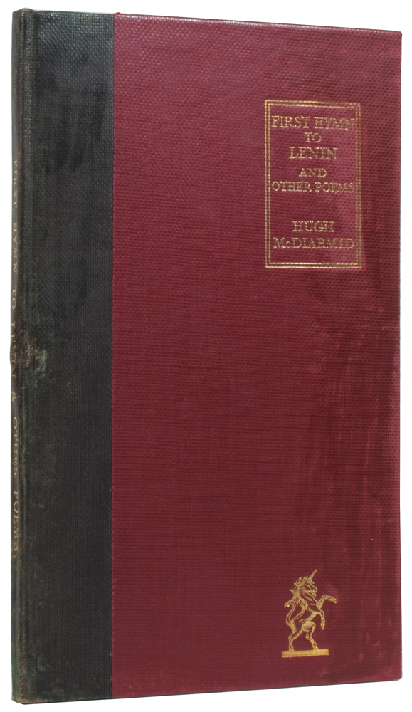 First Hymn to Lenin and Other Poems. Hugh MACDIARMID, Christopher Murray GRIEVE, George William RUSSELL, introduction.