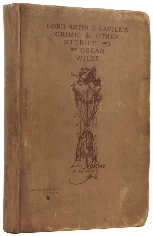 Lord Arthur Savile's Crime and Other Prose Pieces. Oscar WILDE.