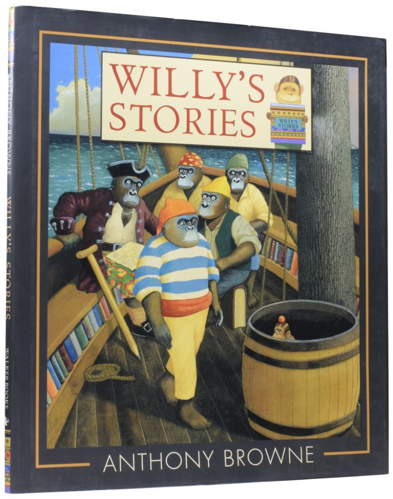 Willy's Stories. Anthony BROWNE, born 1946.