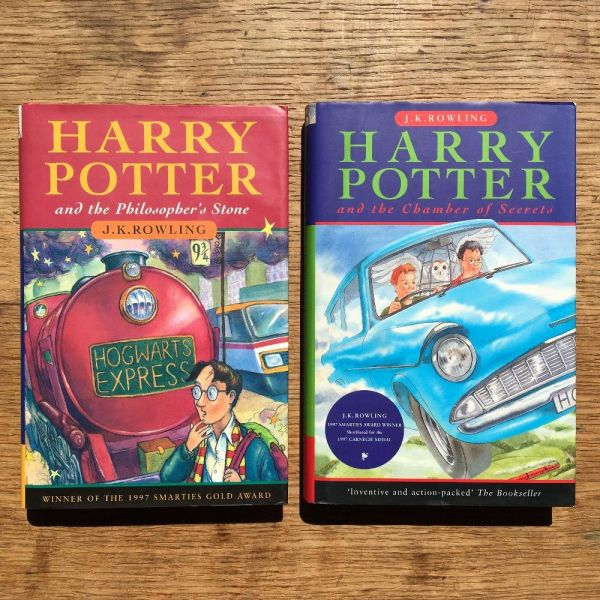 The Harry Potter Gift Set. Harry Potter and The Philosopher's Stone [with] Harry Potter and The Chamber of Secrets. J. K. ROWLING, born 1965.