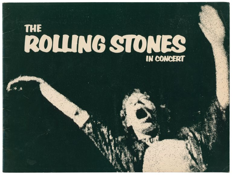 The Rolling Stones in Concert. [Exile on Main Street 'American Tour' Programme]. ROLLING STONES.