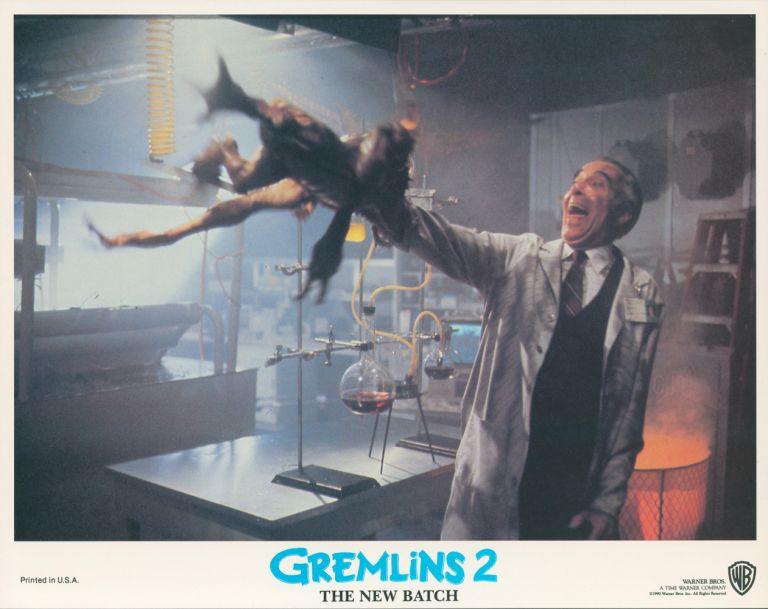 Gremlins 2: The New Batch [LOBBY CARDS]. Charles S. HAAS, writer, Joe DANTE, director, Michael FINNELL, producer.