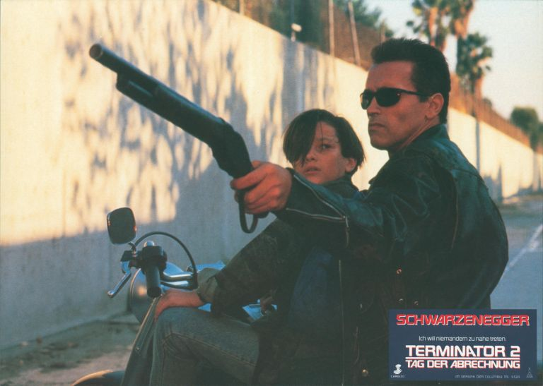 Terminator 2: Judgement Day [Tag der Abrechnung] [LOBBY CARDS]. James CAMERON, director and producer writer.