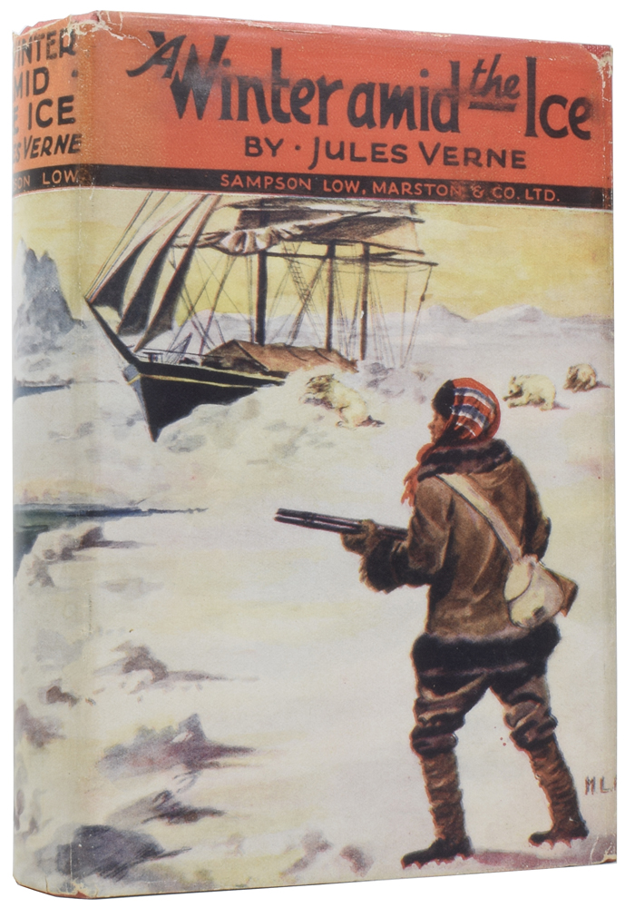 A Winter Amid the Ice, and Other Stories. Jules VERNE, George Makepeace TOWLE.