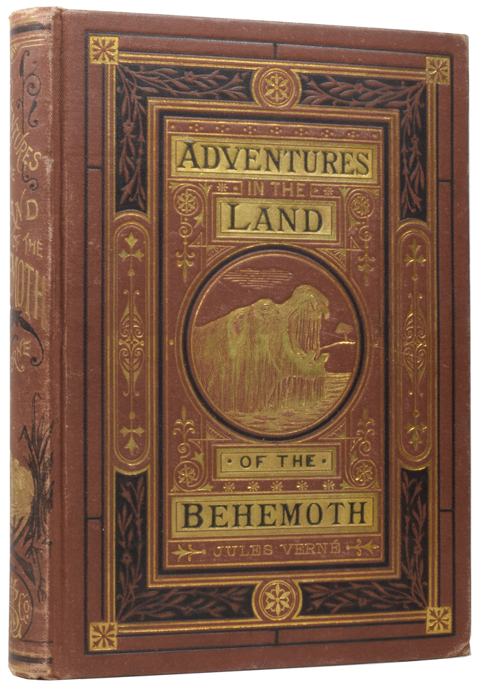 Adventures in the Land of the Behemoth. [The Adventures of Three Englishmen and Three Russians in South Africa]. Jules VERNE, Gabriel, Jules FÉRAT.