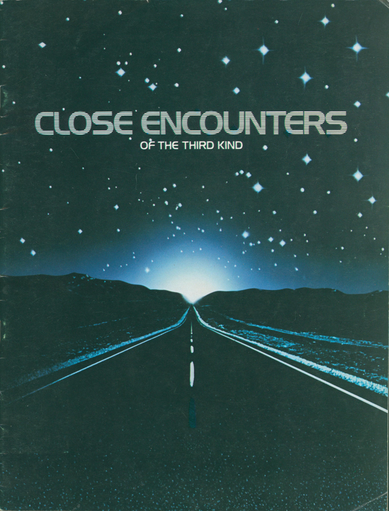 Close Encounters of the third Kind [Film Campaign Brochure]. ANONYMOUS.