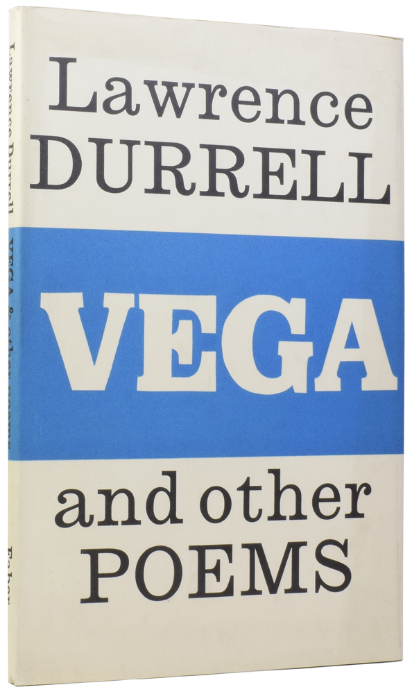 Vega, and Other Poems. Lawrence DURRELL, 1912–1990.