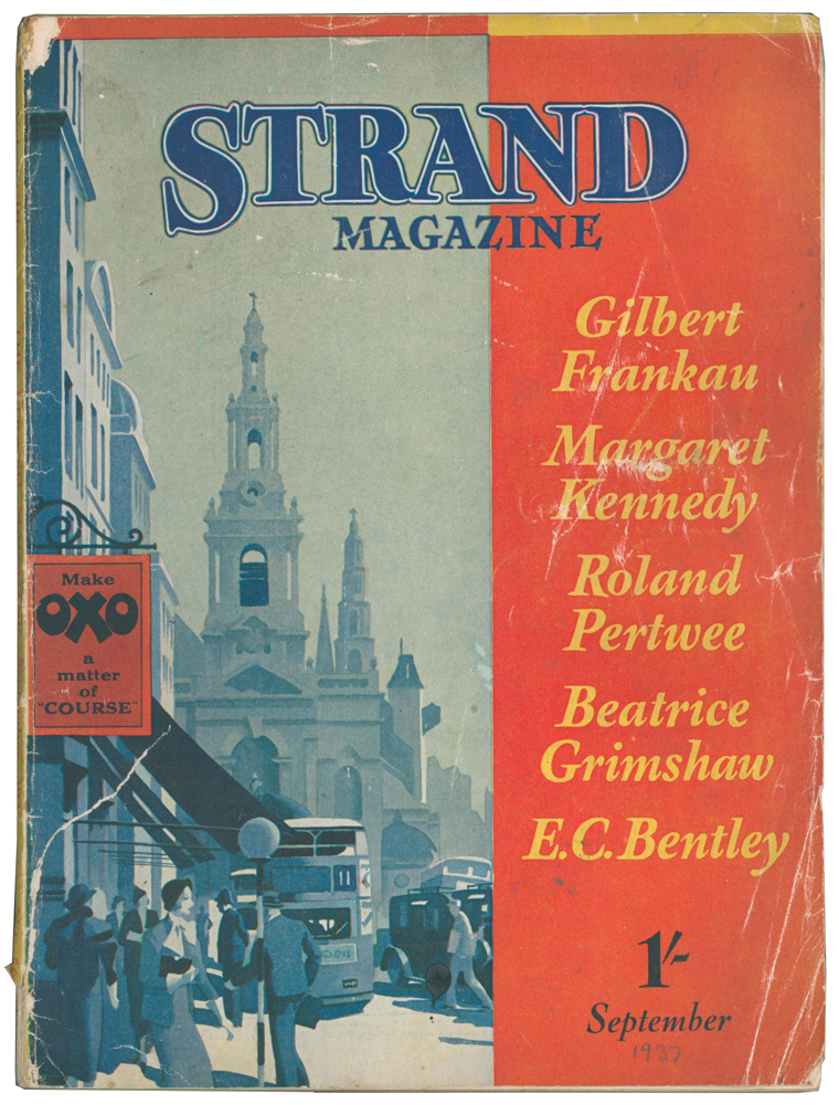 Trent and the Bad Dog [in] The Strand Magazine. Volume 93. E. C. BENTLEY.