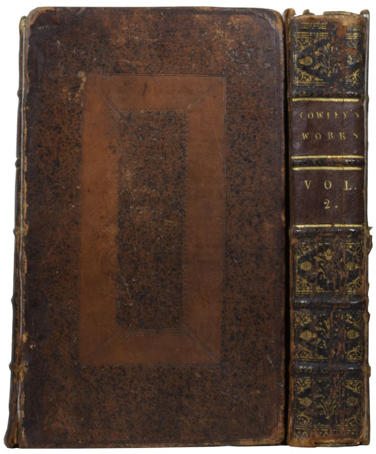 The Works of Mr. Abraham Cowley: Consisting of those Which were formerly Printed; and those which He Design'd for the Press. Publish'd out of the Author's Original Copies. With the Cutter of Coleman-Street. Abraham COWLEY.